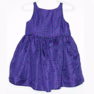 Ralph Lauren 2T girls paisley kids dress purple